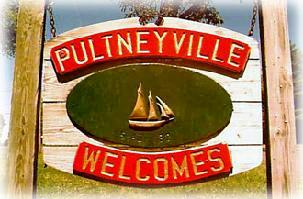 Pultneyville Welcome Sign